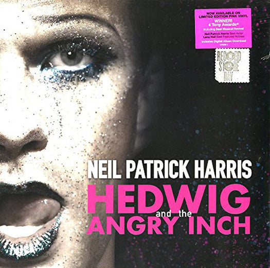 HEDWIG AND ANGRY INCH BROADWAY CAST LP VINYL NEW 33RPM