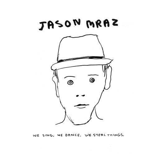 JASON MRAZ WE SING WE DANCE WE STEAL THINGS LP VINYL NEW 33RPM