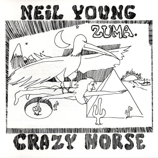 NEIL YOUNG ZUMA LP VINYL NEW 33RPM