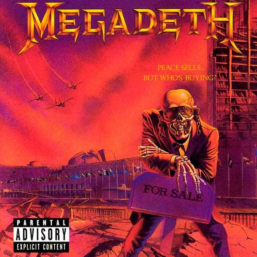 MEGADETH PEACE SELLS BUT WHOS BUYING LP VINYL 33RPM NEW