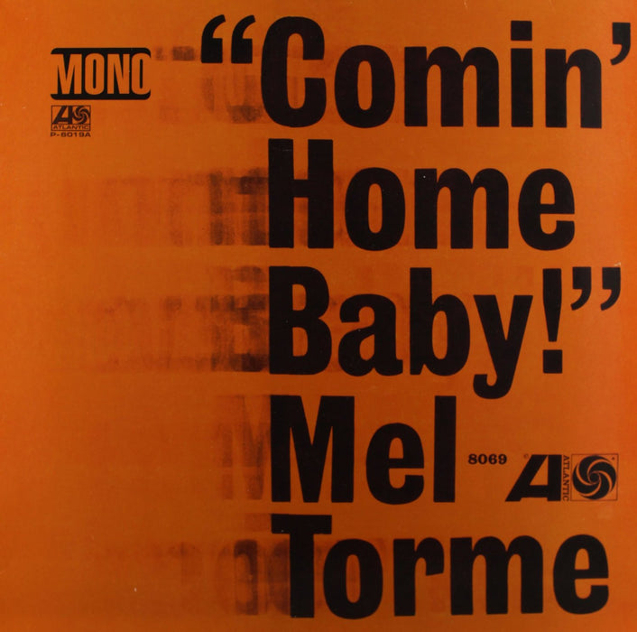 MEL TORME COMIN HOME BABY LP VINYL 33RPM NEW