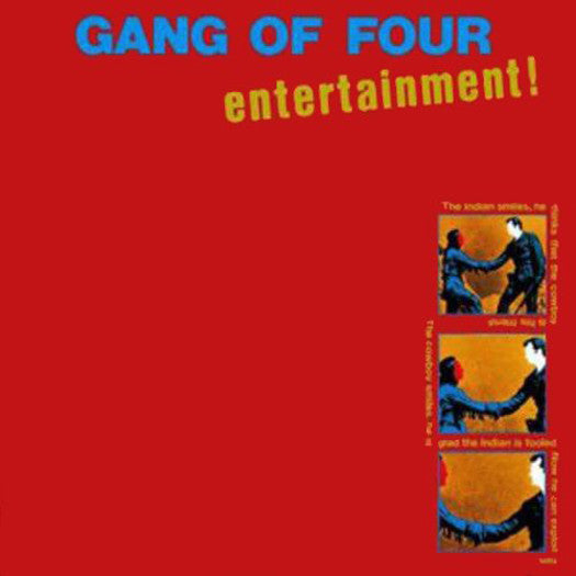 GANG OF FOUR ENTERTAINMENT LP VINYL NEW (US) 33RPM