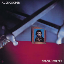 ALICE COOPER Special Forces LP Blue Vinyl NEW PRE ORDER 13/10/17
