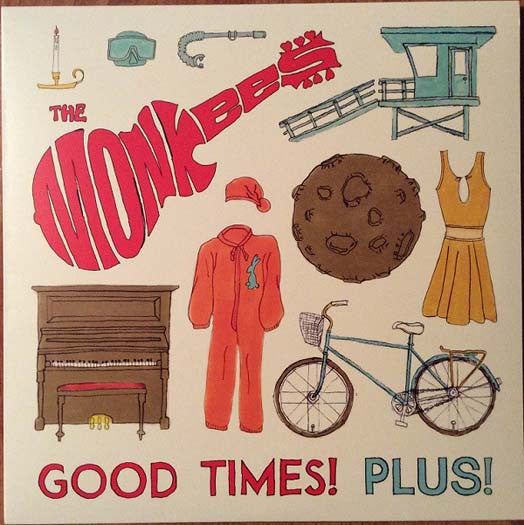 "The Monkees GOOD TIMES PLUS Limited Ed Red 10"" Vinyl NEW 2016"