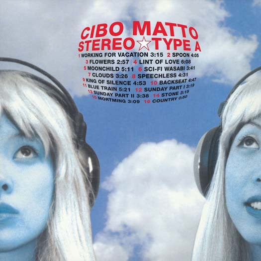 CIBO MATTO Stereo Type A Double LP Vinyl NEW