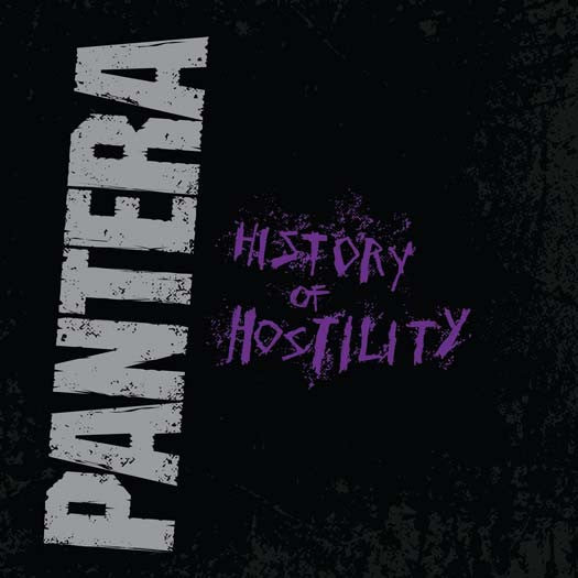 PANTERA HISTORY OF HOSTILITY LP VINYL NEW 33RPM