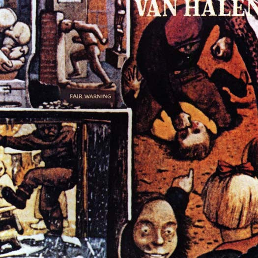 VAN HALEN FAIR WARNING LP VINYL NEW 33RPM