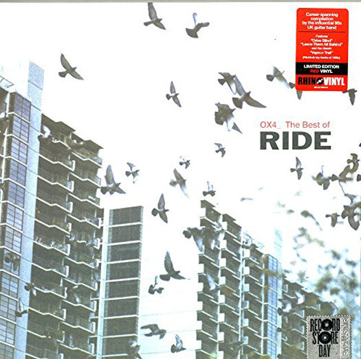 RIDE OX4_ BEST OF DOUBLE LP VINYL NEW 33RPM