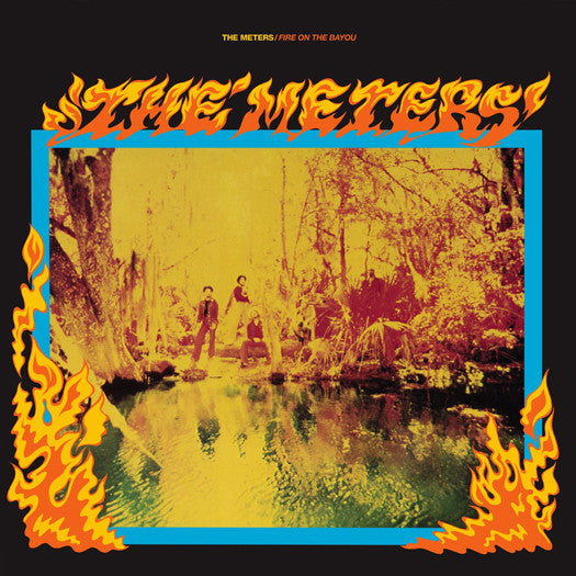 METERS FIRE ON THE BAYOU LP VINYL NEW (US) 33RPM COLOURED