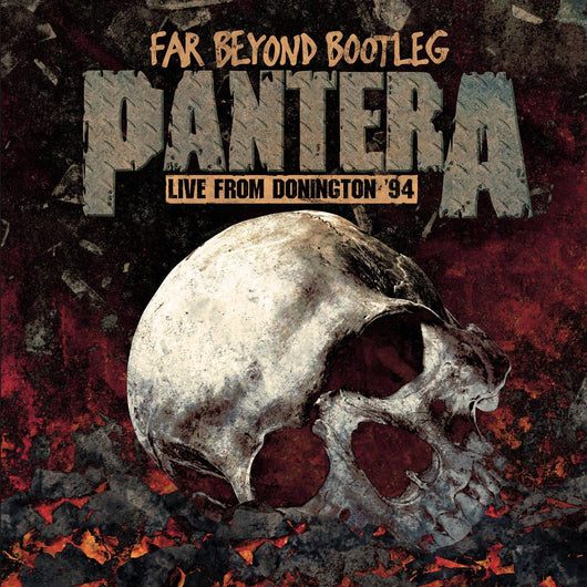 PANTERA FAR BEYOND BOOTLEG LIVE FROM DONINGTON 94 LP VINYL 33RPM NEW