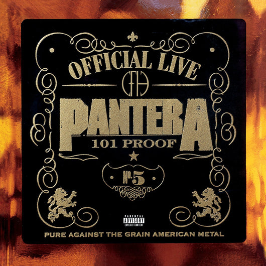 PANTERA THE GREAT OFFICIAL LIVE 101 P LP VINYL 33RPM NEW