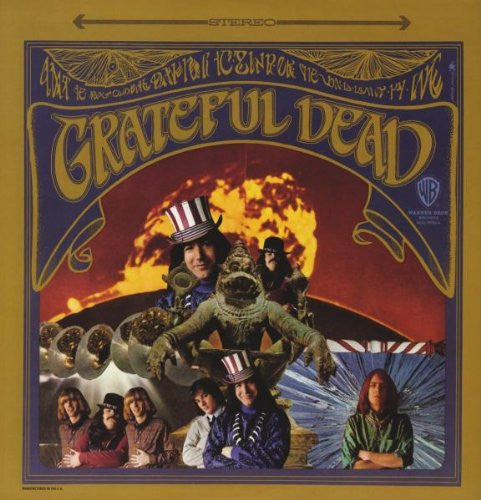 GRATEFUL DEAD GRATEFUL DEAD LP VINYL 33RPM NEW