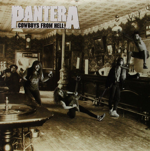 PANTERA COWBOYS FROM HELL LP VINYL NEW (US) 33RPM