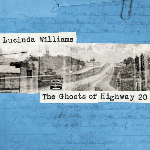 LUCINDA WILLIAMS GHOSTS OF HIGHWAY 20 LP VINYL NEW 33RPM