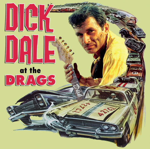 DICK DALE AT THE DRAGS LP VINYL NEW (US) 33RPM