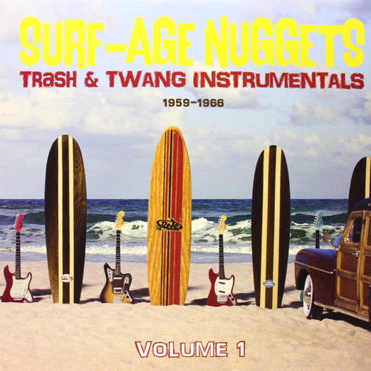 SURF AGE NUGGETS 1 VARIOUS LP VINYL NEW (US) 33RPM