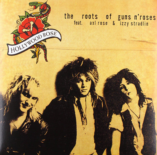 HOLLYWOOD ROSE ROOTS OF GUNS N ROSES LP VINYL NEW (US) 33RPM