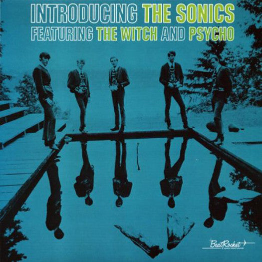 SONICS INTRODUCING THE SONICS LP VINYL NEW (US) 33RPM