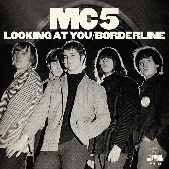 "MC5 - Looking At You / Borderline Vinyl 7"" Single White New 2019"