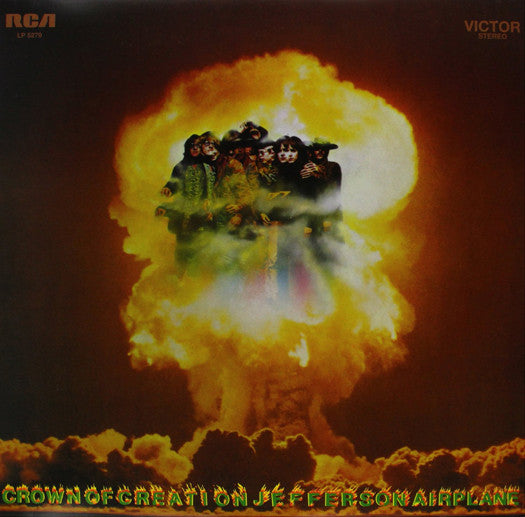 JEFFERSON AIRPLANE CROWN OF CREATION LP VINYL NEW (US) 33RPM