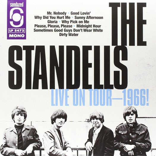 STANDELLS LIVE 1966 LP VINYL NEW (US) 33RPM