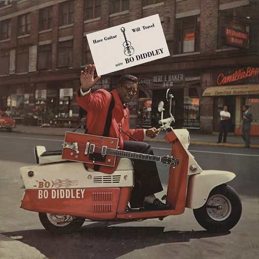 BO DIDDLEY HAVE GUITAR WILL TRAVEL LP VINYL NEW (US) 33RPM