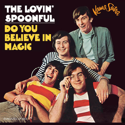 LOVIN SPOONFUL DO YOU BELIEVE IN MAGIC LP VINYL NEW (US) 33RPM
