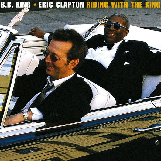 ERIC CLAPTONBB KING RIDING WITH THE KING LP VINYL 33RPM NEW