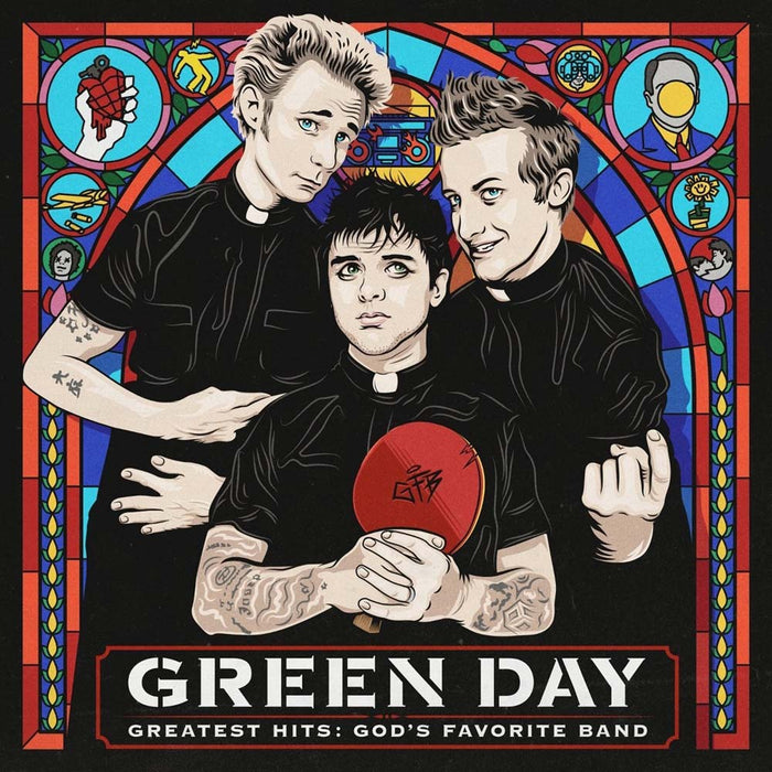 Green Day - Greatest Hits : God's Favourite Band Vinyl LP 2017