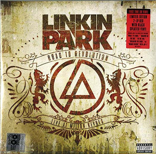 LINKIN PARK ROAD TO REVOLUTION LIVE MILTON KEYNES DOUBLE LP VINYL NEW RSD 2016