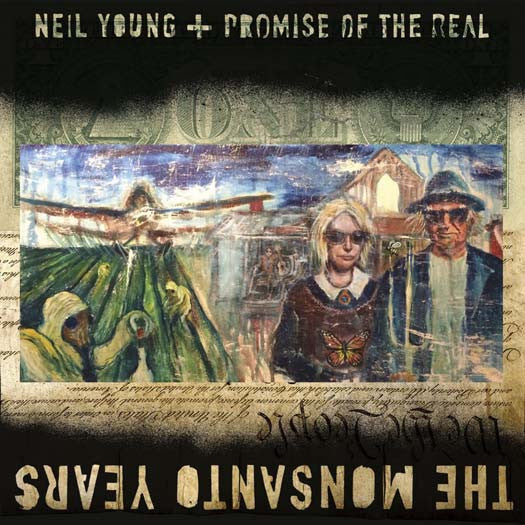 NEIL YOUNG & PROMISE OF THE REAL THE MONSANTO YEARS DOUBLE LP VINYL NEW 33RPM