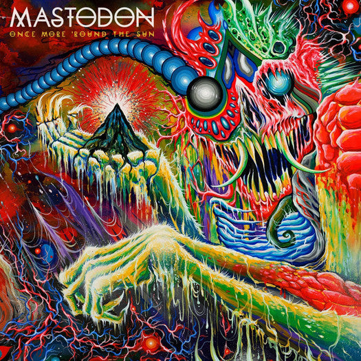 MASTODON ONCE MORE ROUND THE SUN LP VINYL AND CD NEW (US) 33RPM LIMITED