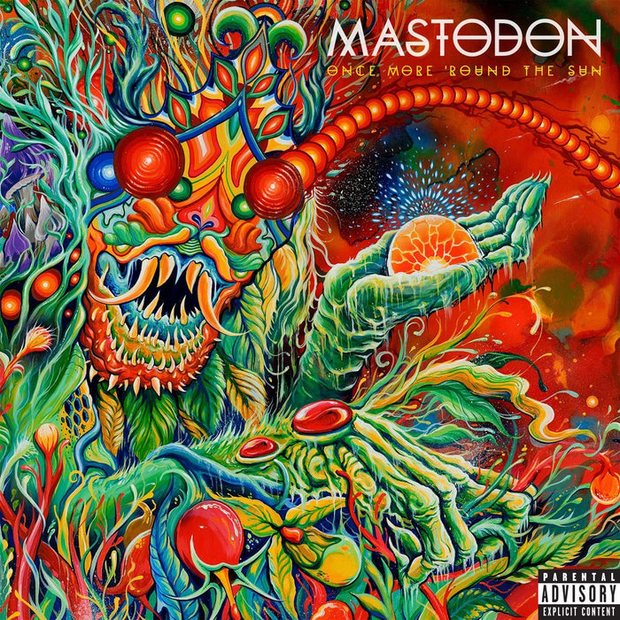MASTODON ONCE MORE ROUND THE SUN LP VINYL NEW 2014 33RPM