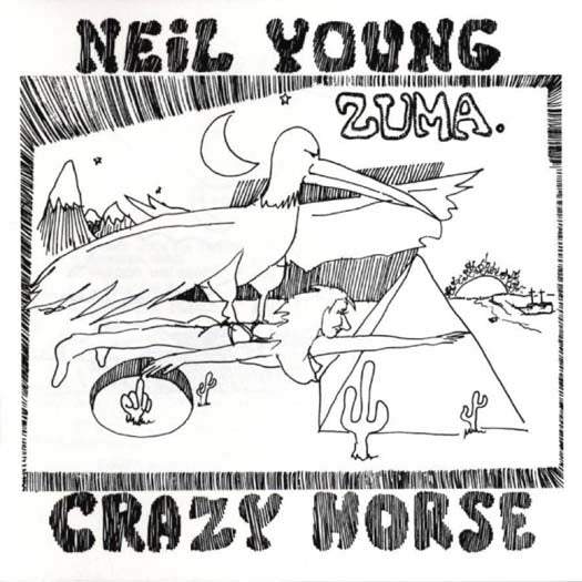 NEIL YOUNG Zuma LP Vinyl NEW