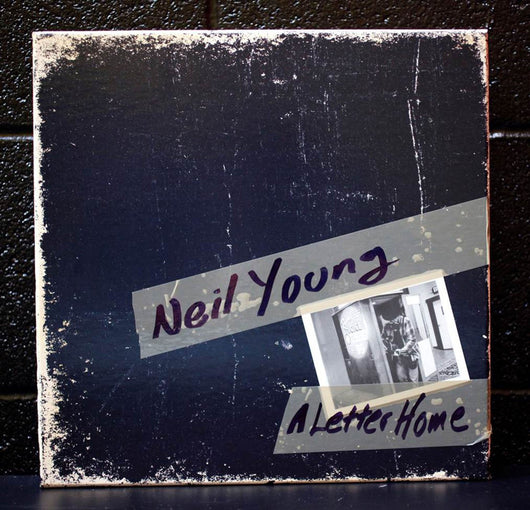 NEIL YOUNG A LETTER HOME LP VINYL 33RPM BOX SET NEW