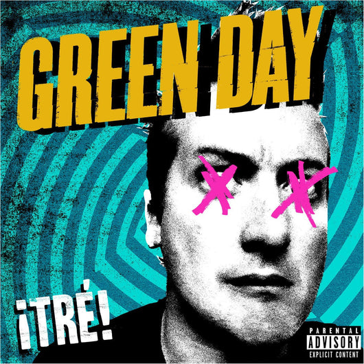 GREEN DAY TRE LP VINYL 33RPM NEW