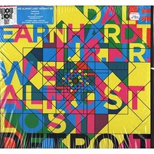 DALE EARNHARDT JR JR WE ALMOST LOST DETROIT EP LP VINYL 33RPM NEW