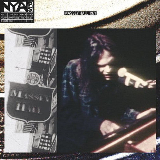 NEIL YOUNG LIVE AT MASSEY HALL LP VINYL NEW (US) 33RPM