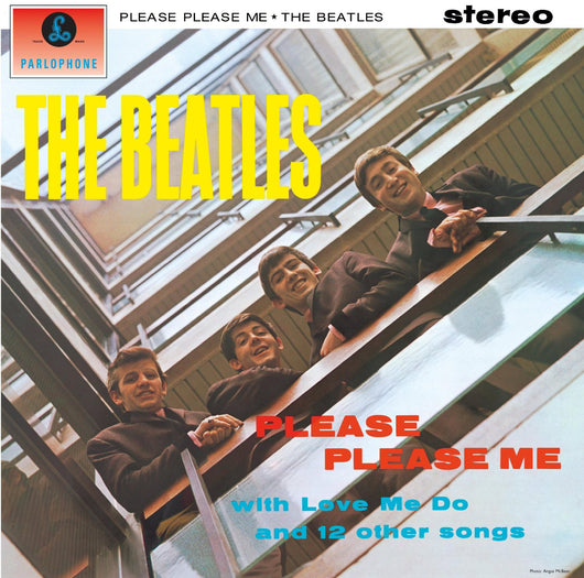 BEATLES PLEASE PLEASE ME LP VINYL 33RPM NEW