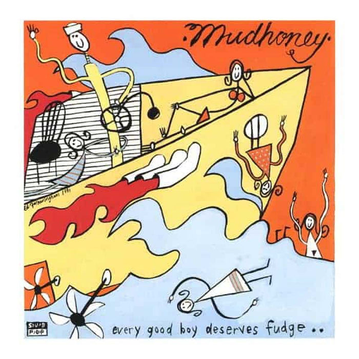 Mudhoney Every Good Boy Deserves Fudge Orange Vinyl LP 2020