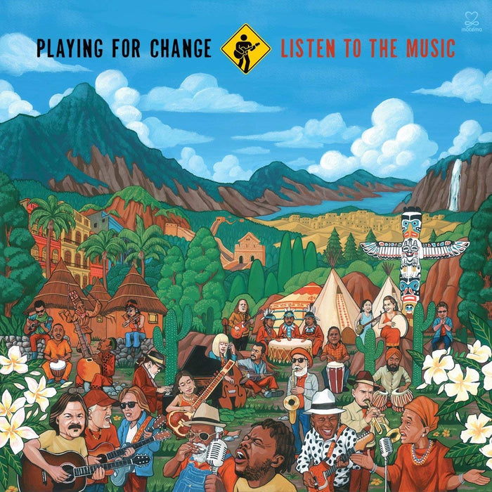Playing for Change Listen to the Music Vinyl LP New 2018