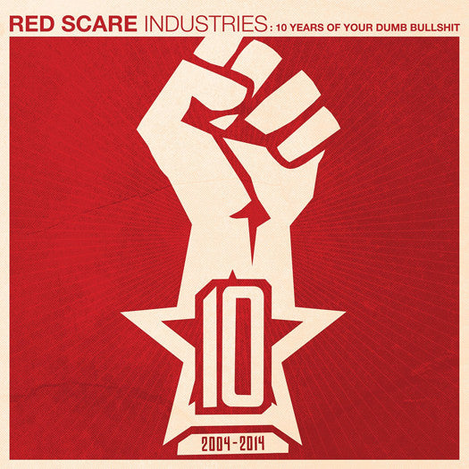 RED SCARE INDUSTRIES 10 YEARS VARIOUS LP VINYL NEW (US) 33RPM