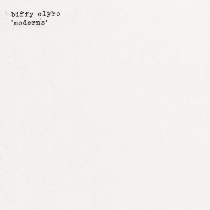 "Biffy Clyro - Modern Lepper 7"" Vinyl Single White RSD Aug 2020"