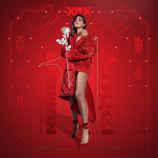 CHARLI XCX Number 1 Angel / Pop 2  LP Red/Clear Vinyl NEW 2018