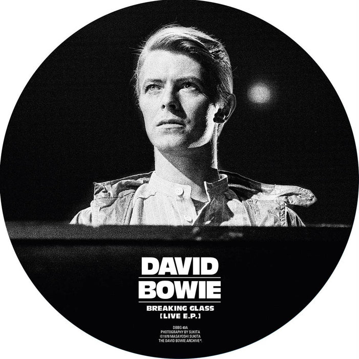 "David Bowie Breaking Glass 7"" Vinyl Pic Disc EP New 2018"