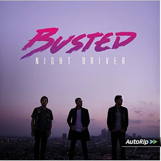 BUSTED Night Driver LP Vinyl NEW 25/11/16