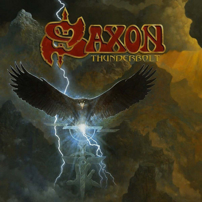 SAXON Thunderbolt LP Red Vinyl NEW 2018