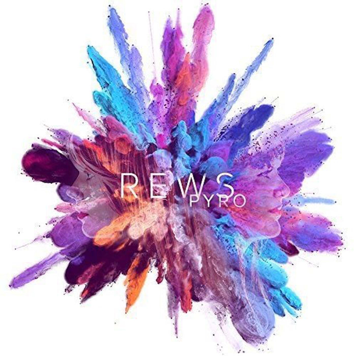 REWS Pyro LP White & Pink Splatter Vinyl NEW 2017