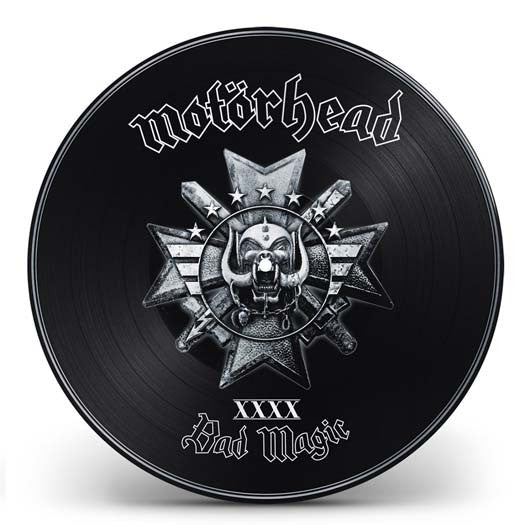 MOTORHEAD Bad Magic Limited Ed Pic Disc LP Vinyl Brand NEW 2016