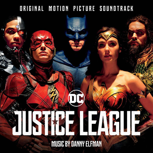 DANNY ELFMAN Justice League LP Vinyl NEW 2018
